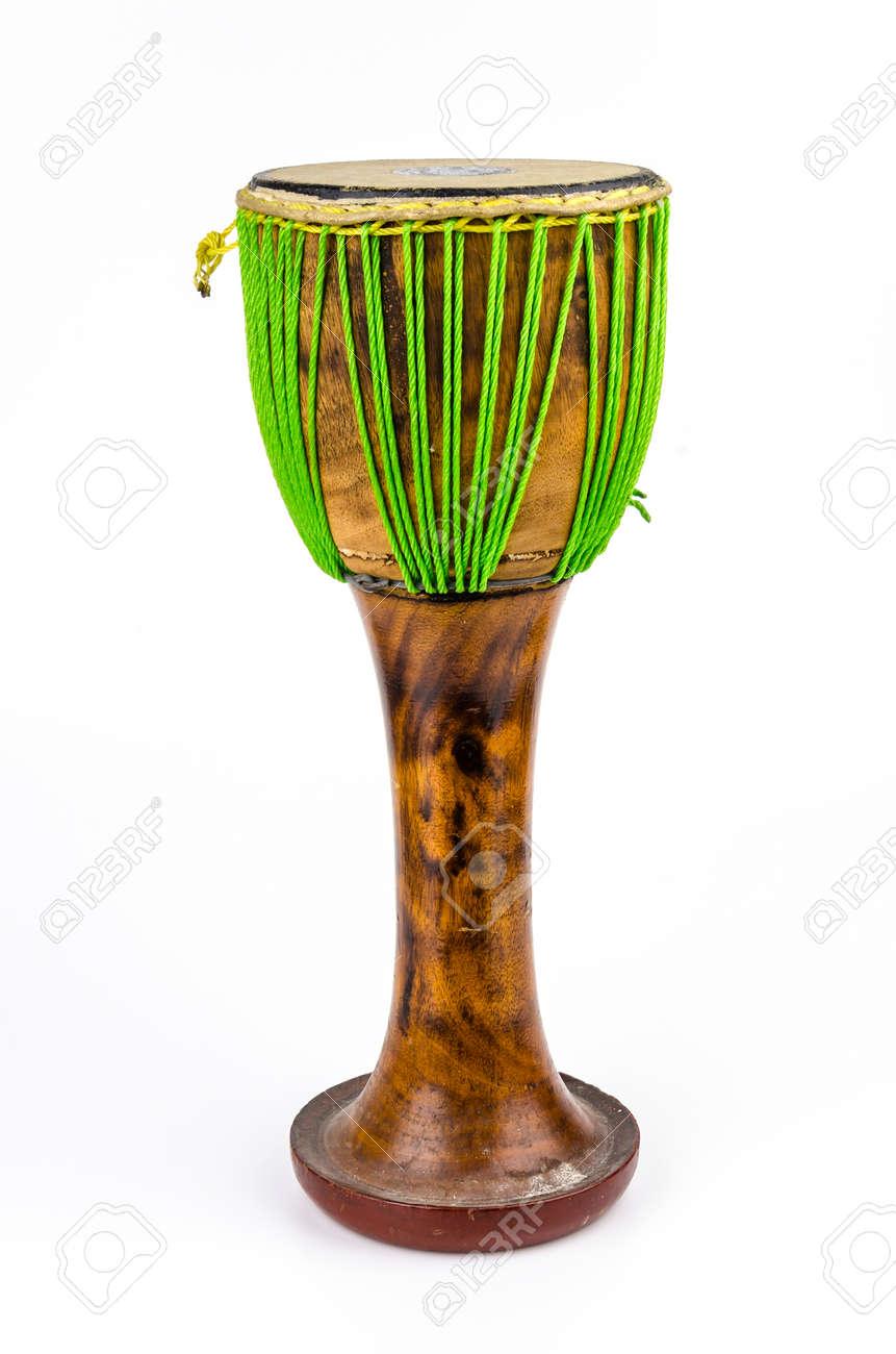 Thai drum on isolated white background Stock Photo - 26111377
