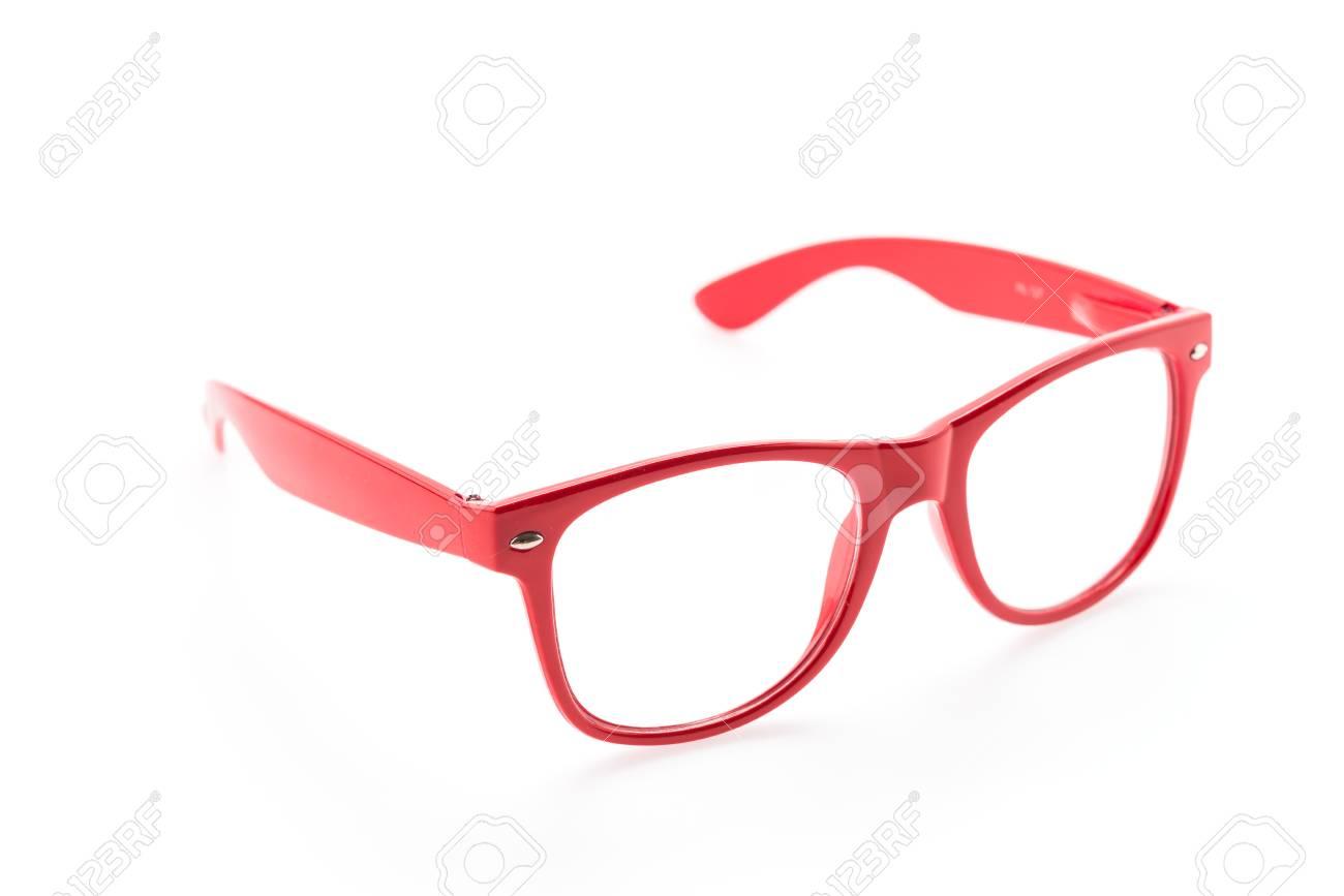635b4ddaccc Colorful Eyeglasses isolated on white Stock Photo - 30936357