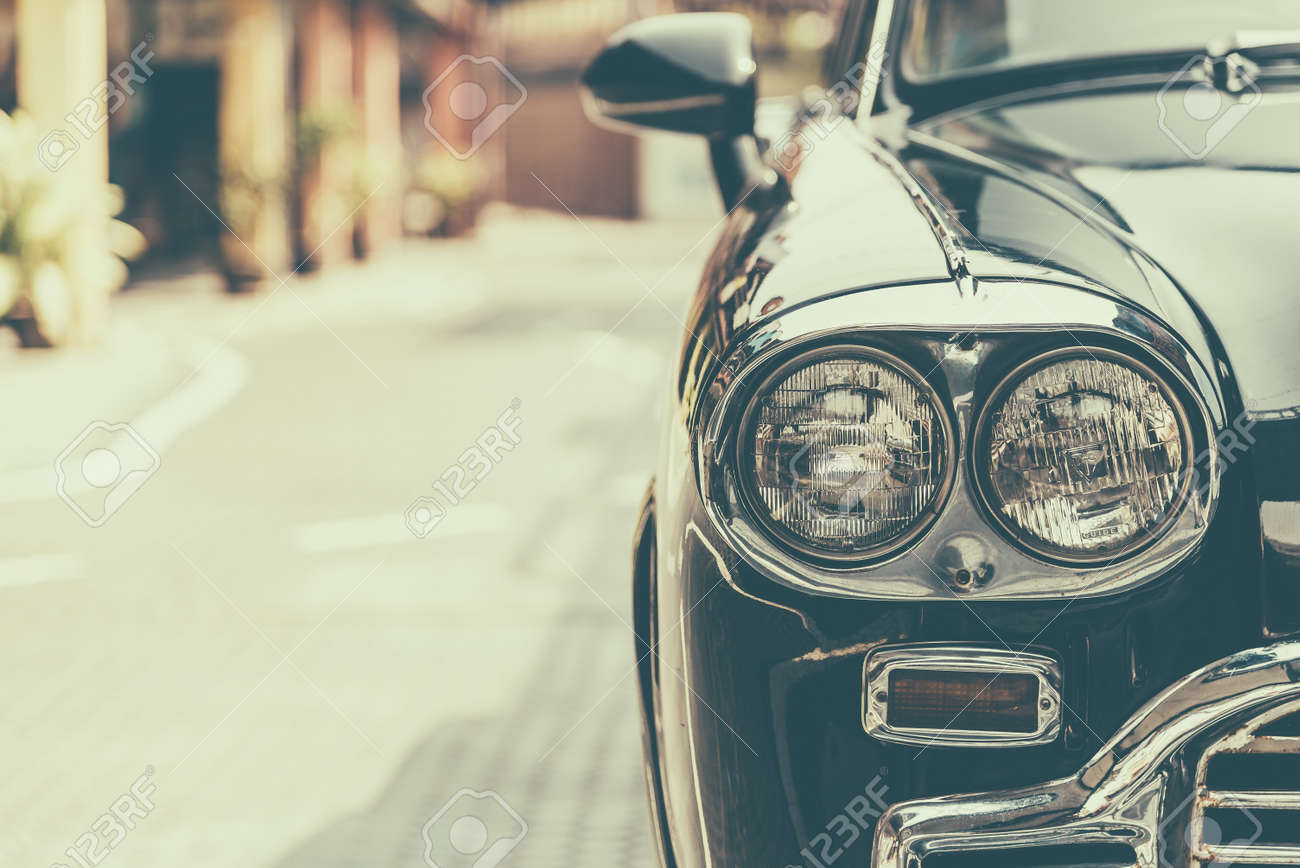 headlight lamp vintage classic car vintage effect style pictures