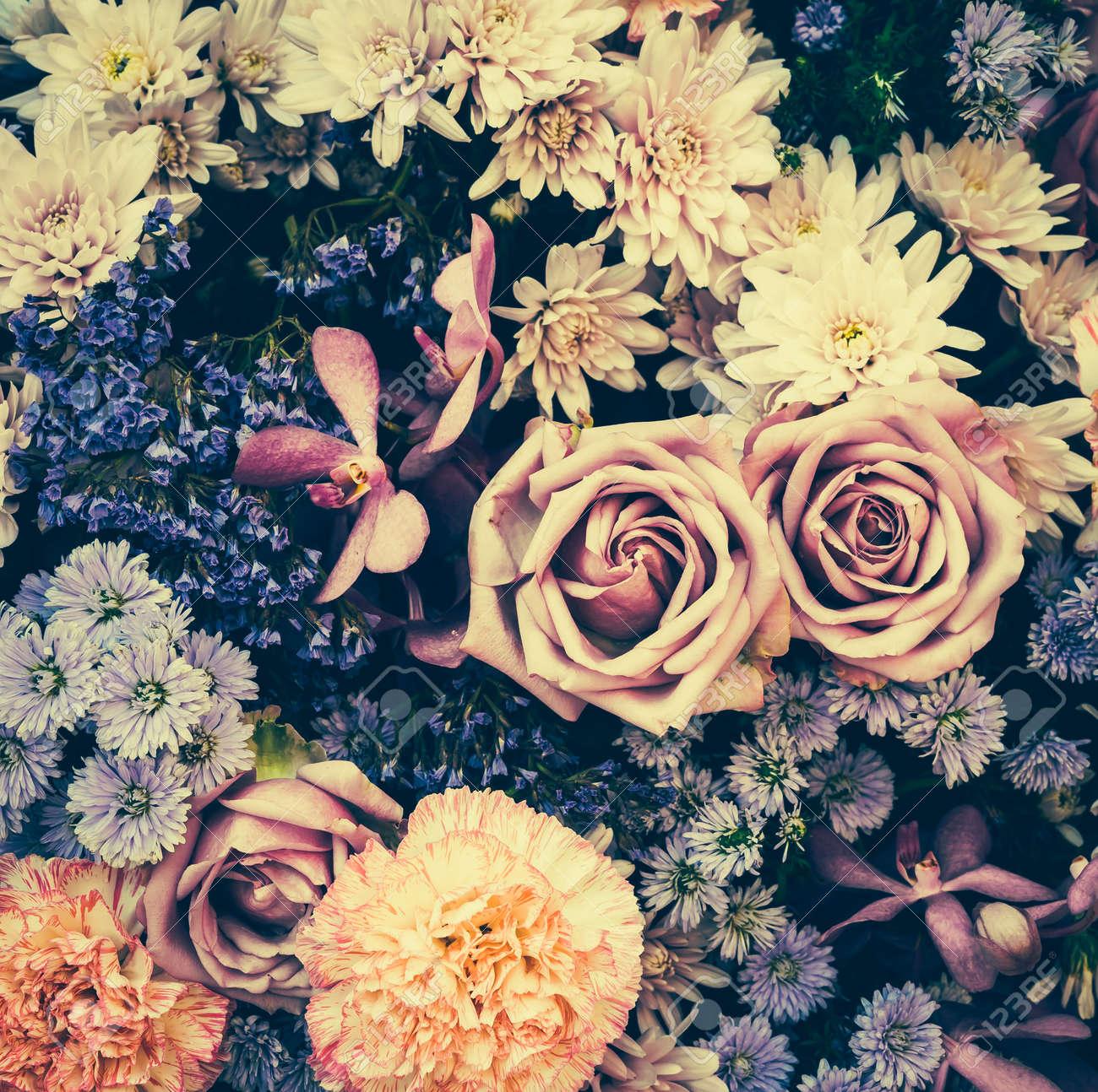 Fondos Antiguos Flor Vintage Imagenes De Estilo Efecto Vintage - Vintage-imagenes