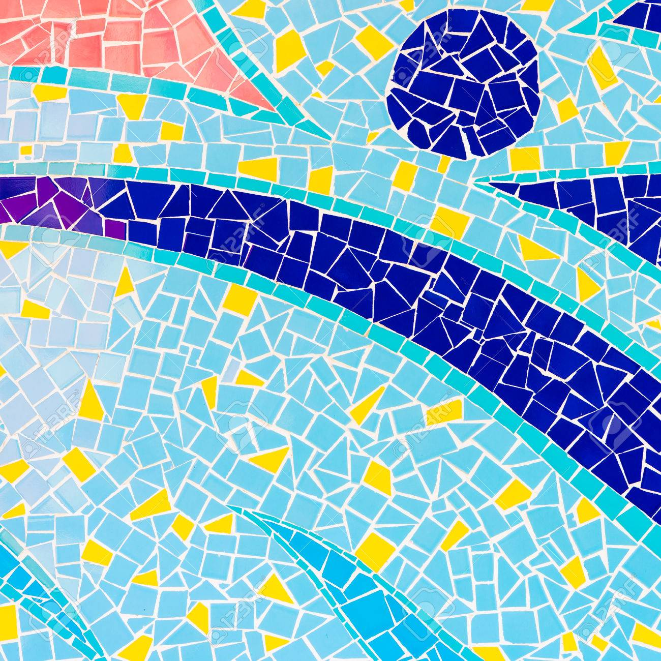 Colorful Tiles Textures Background Stock Photo, Picture And Royalty ...