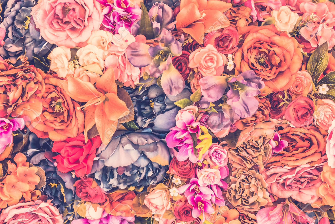 Free Floral Background Vintage