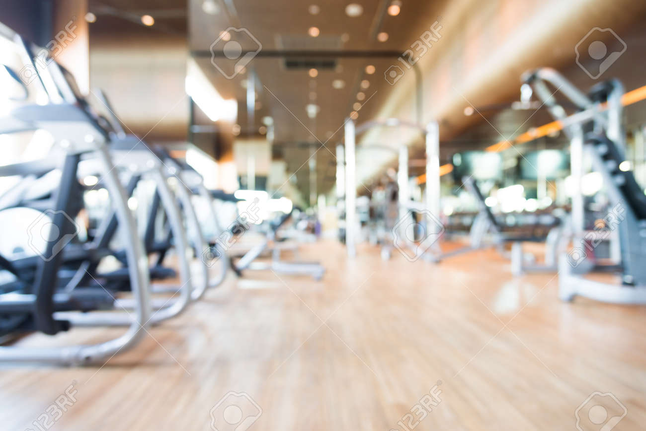 Abstract blur gym background stock photo picture and royalty free