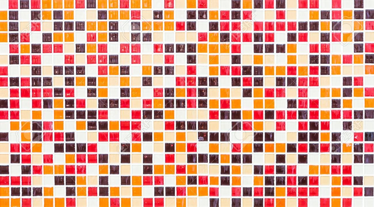 mosaico de colores de fondo azulejos texturas pared foto de archivo