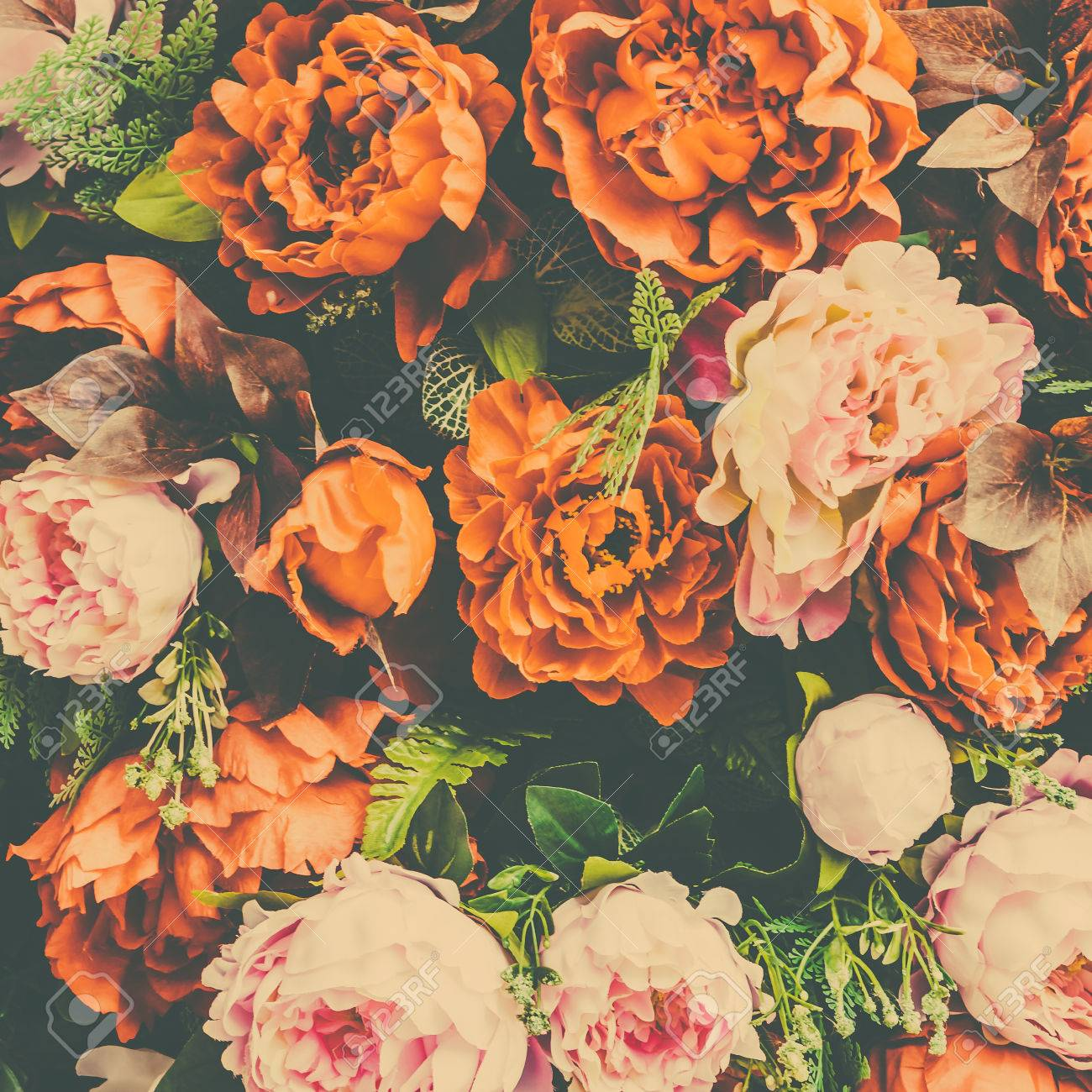 Beautiful Vintage Flower Background Vintage Filter Effect Stock Photo Picture And Royalty Free Image Image 41949702