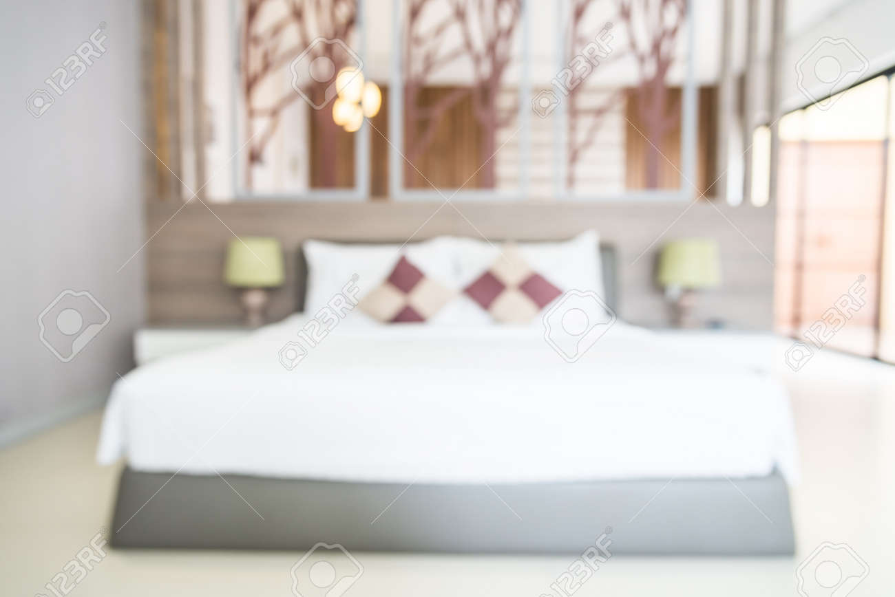 abstract blur bedroom background stock photo 45776318 - Bedroom Background