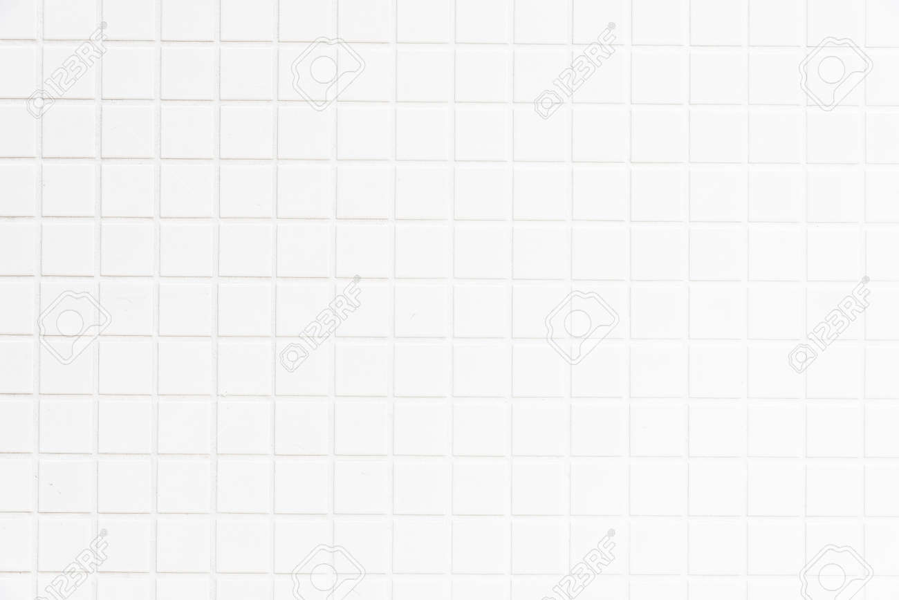 White tiles wall textures for background - 50630348