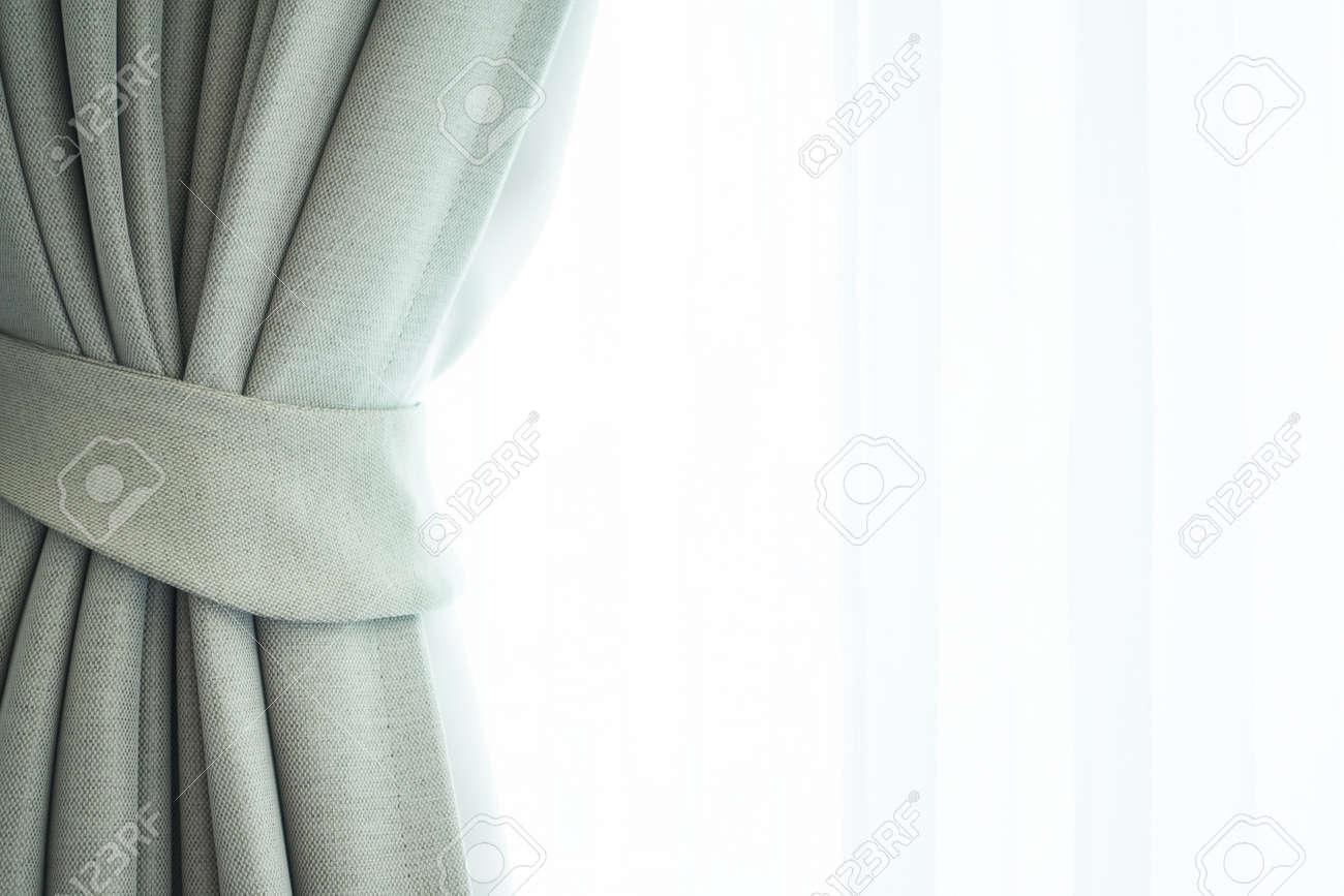 Belle Rideau De La Fenêtre De Luxe Décoration D\'intérieur Chambre à ...