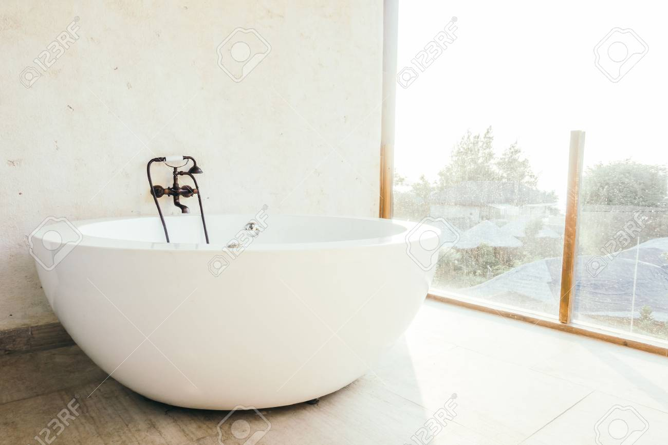 Vasca Da Bagno Retro : Bella lusso vasca da bagno decorazione interni bagno vintage