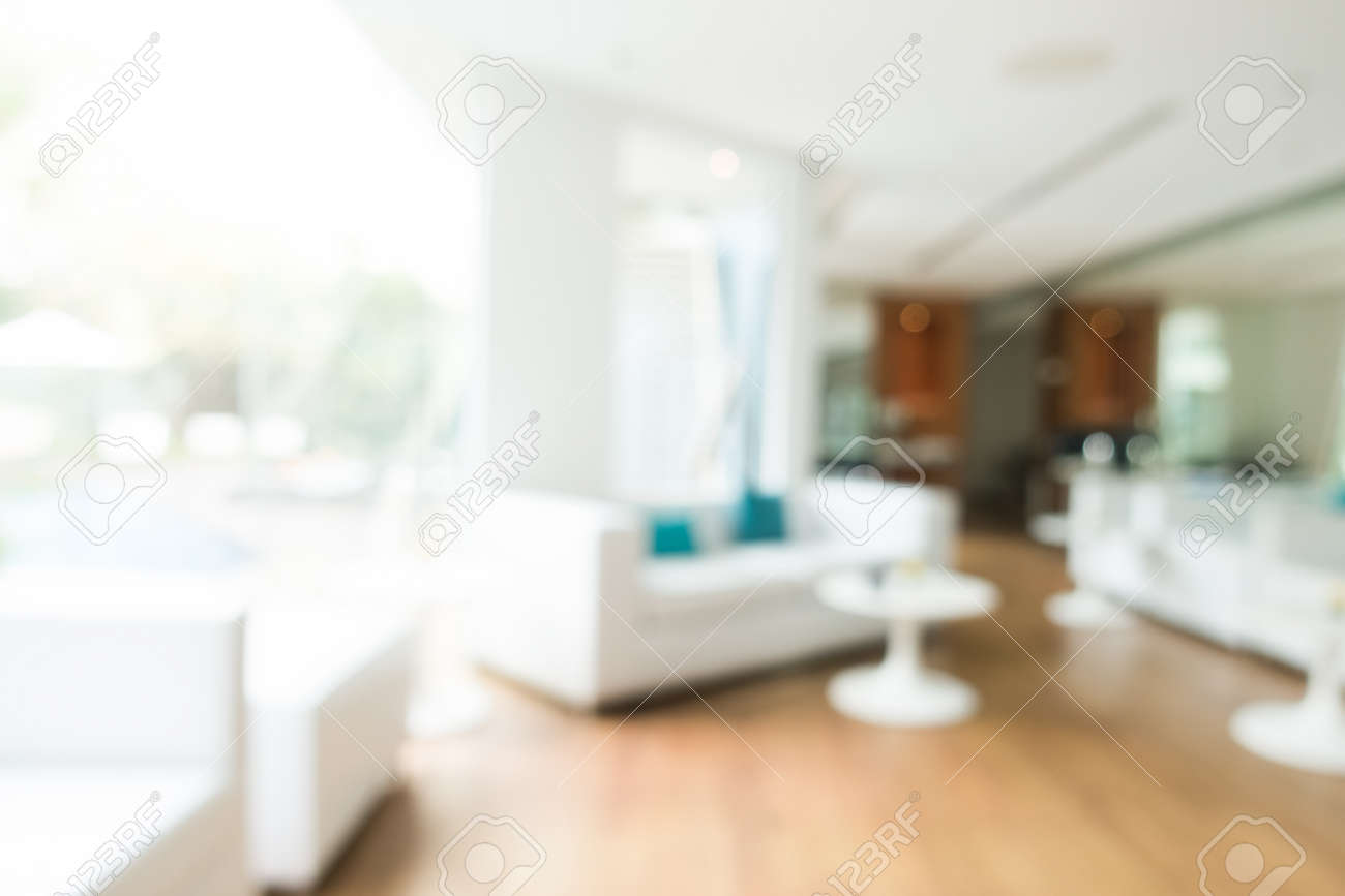 Abstract Blur Livingroom Decoration Interior For Background Stock Photo    52076994