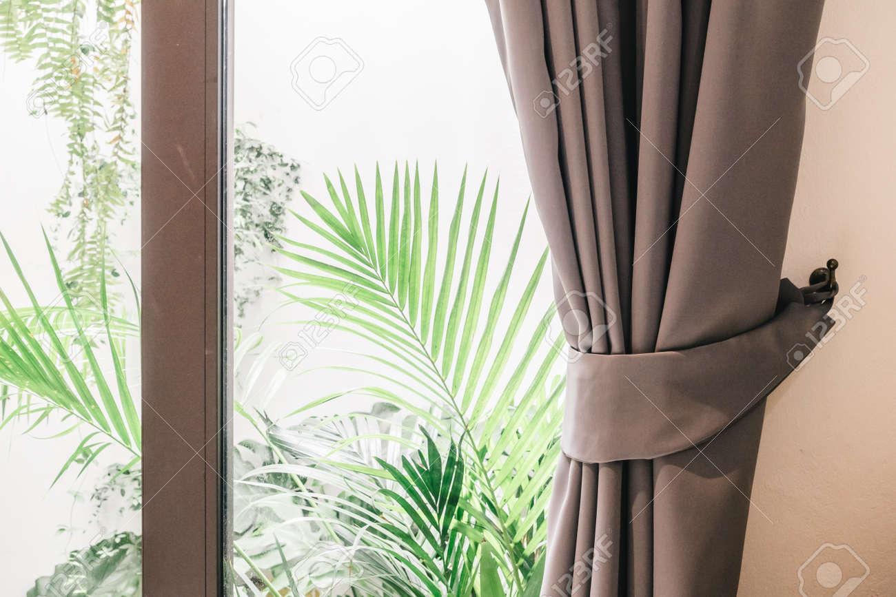 banque dimages rideau fentre dcoration intrieure salon chambre filtre vintage