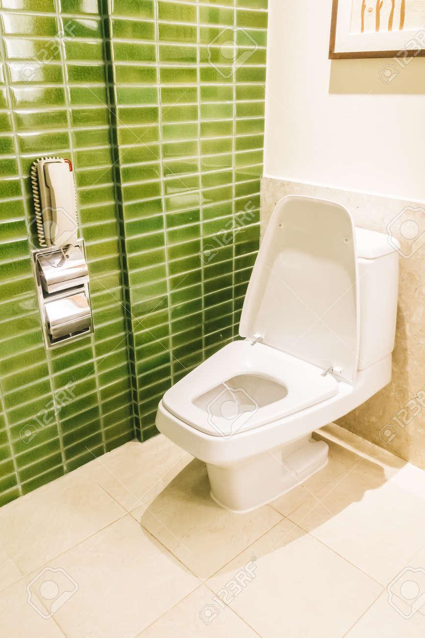 Décoration De Toilette Intérieur De La Salle De Toilette - Filtre ...