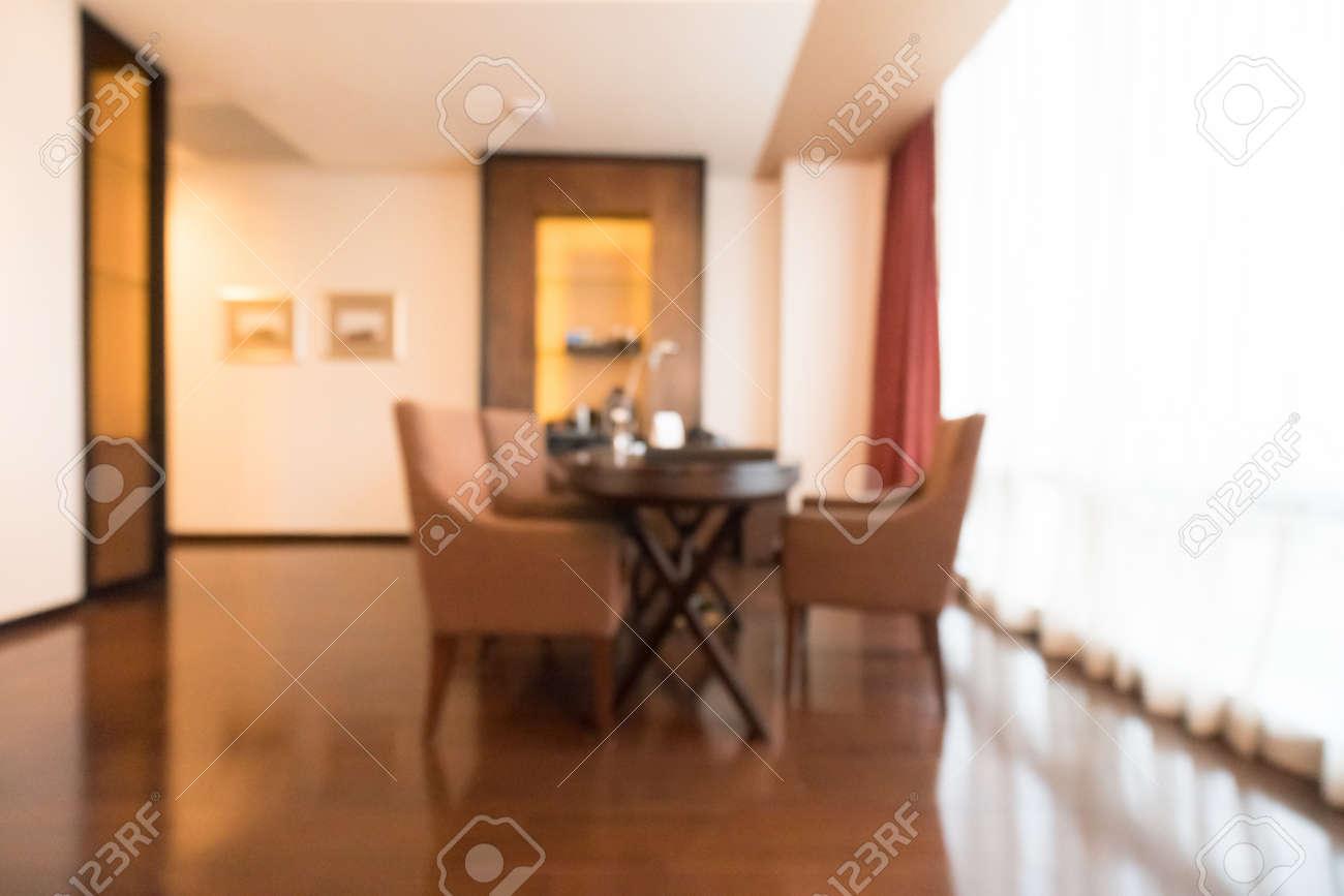 Entzuckend Standard Bild   Zusammenfassung Unschärfe Wohnzimmer Innenraum Für  Hintergrund