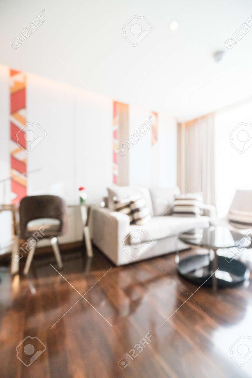 AuBergewohnlich Standard Bild   Zusammenfassung Unschärfe Wohnzimmer Innenraum Für  Hintergrund