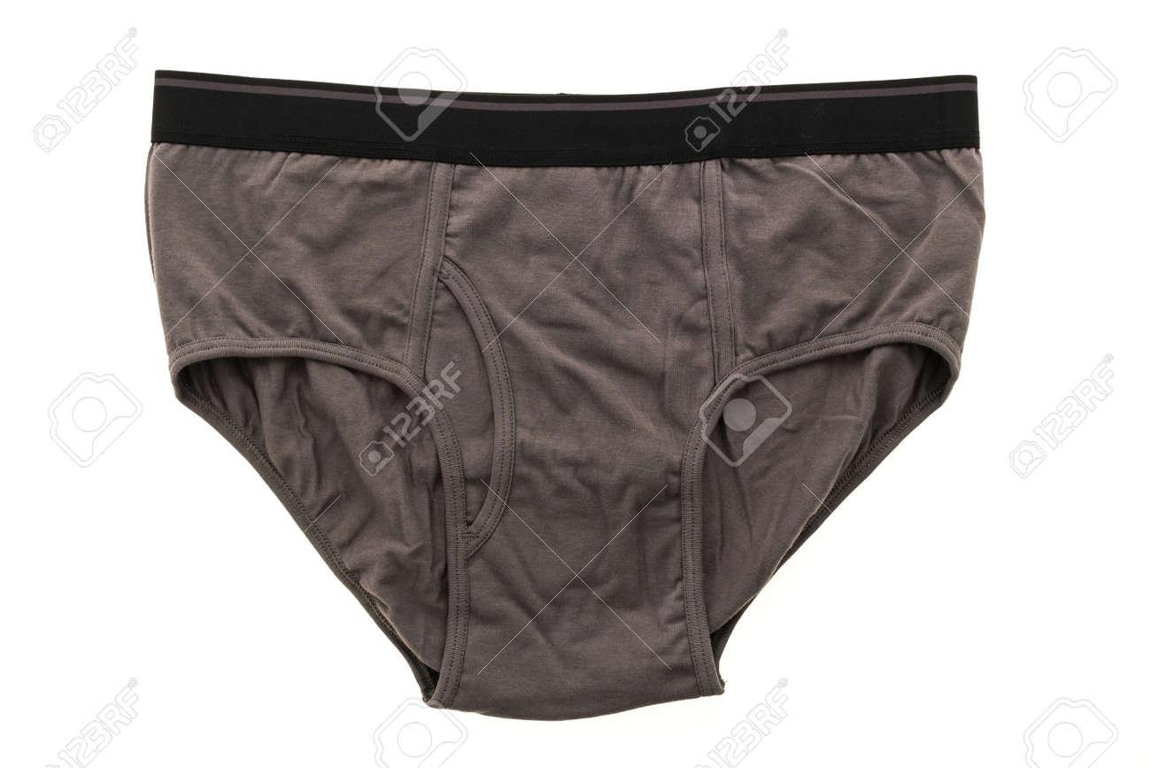5a268ca68de8 Foto de archivo - Nueva ropa interior masculina o pantalón corto y el  boxeador de la ropa aislado en el fondo blanco