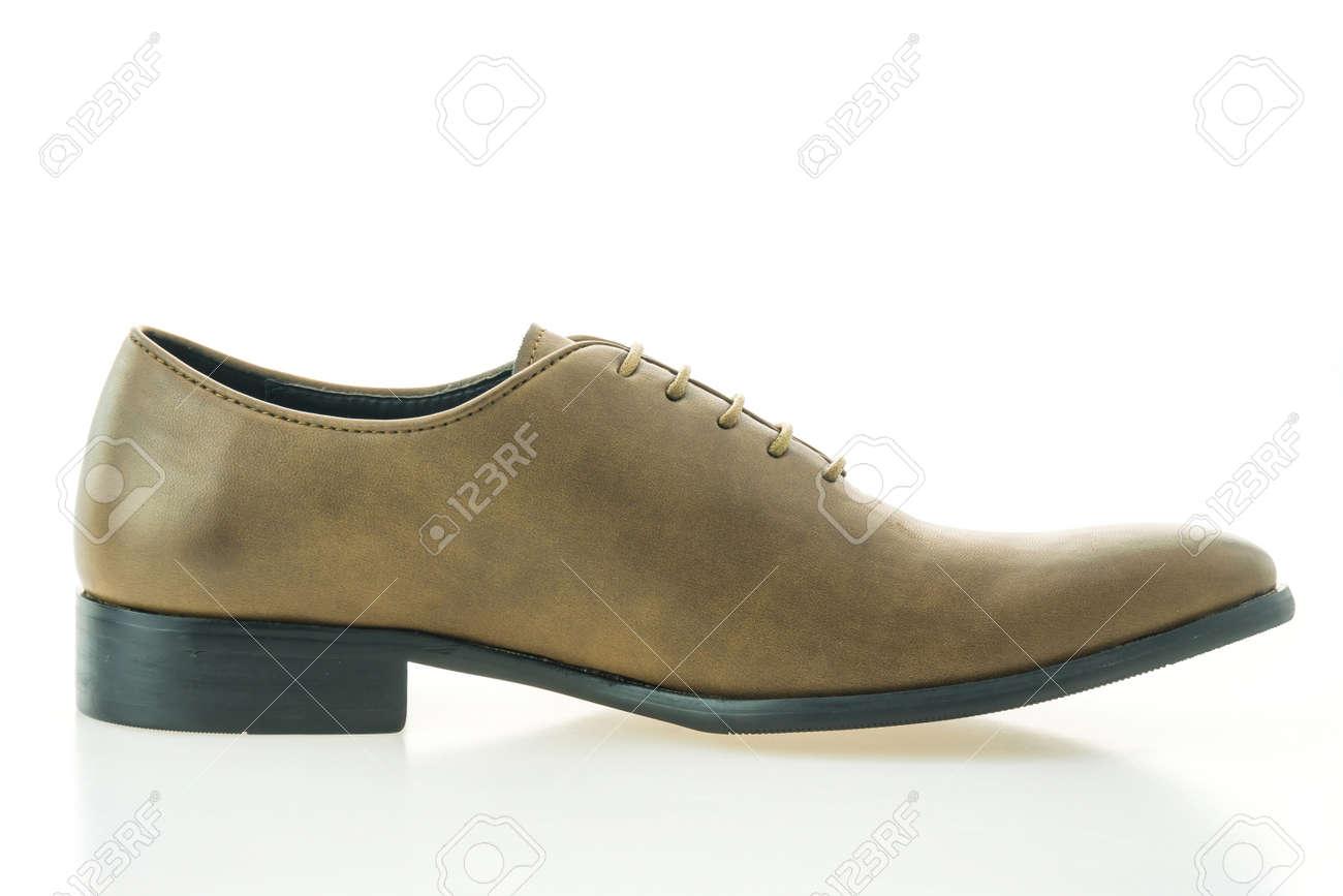 best cheap 383f6 2e442 Belle scarpe di cuoio marroni di lusso e di eleganza isolate su fondo bianco