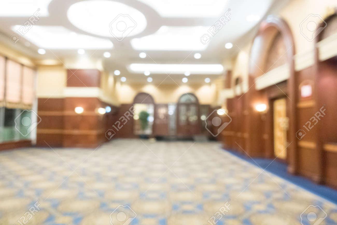 Abstract Verwischen Hochzeitssaal Im Hotel Interieur Für Den ...