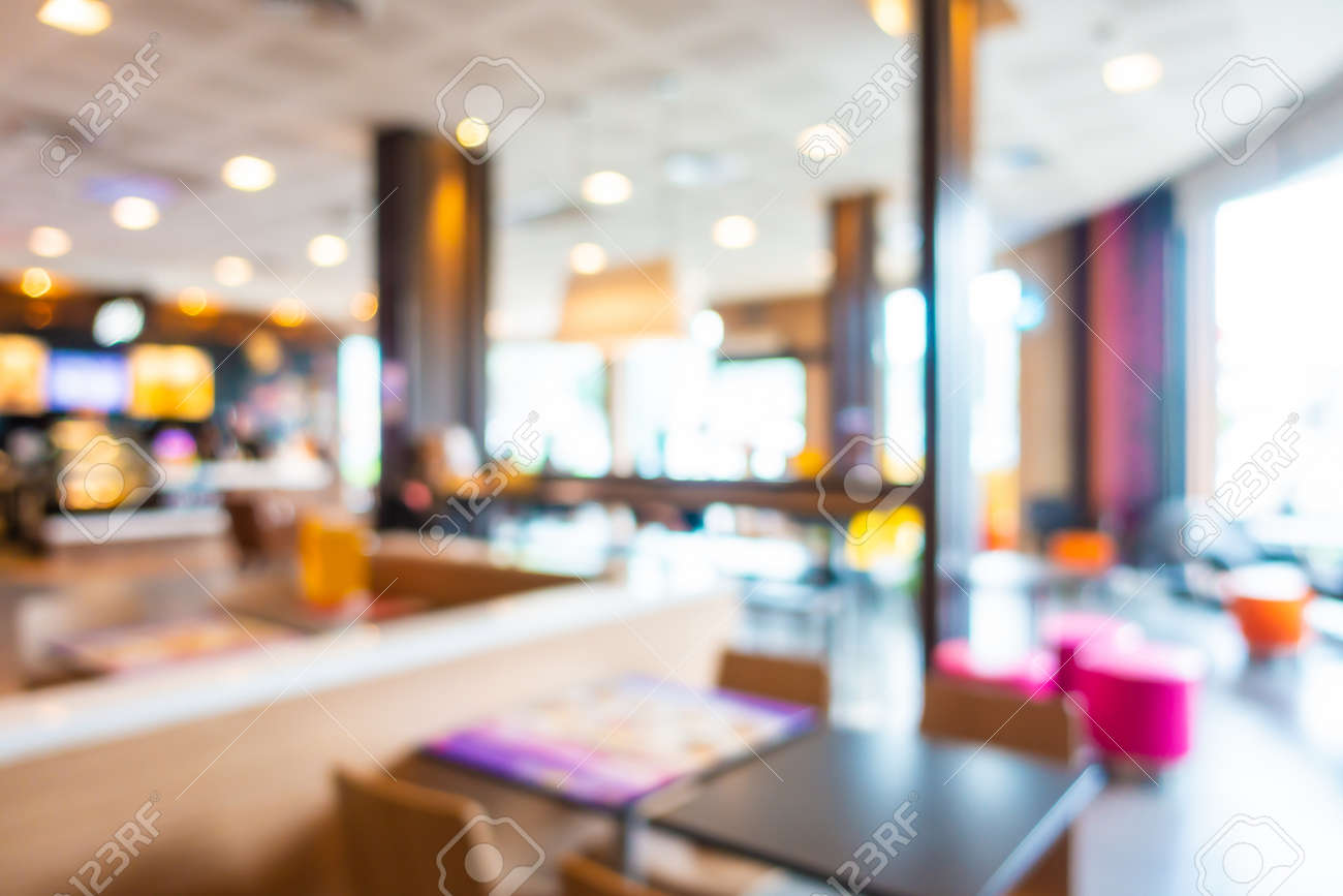 Abstract Blur And Defocus Fast Food Restaurant And Coffee Shop Stock Photo Picture And Royalty Free Image Image 124314019