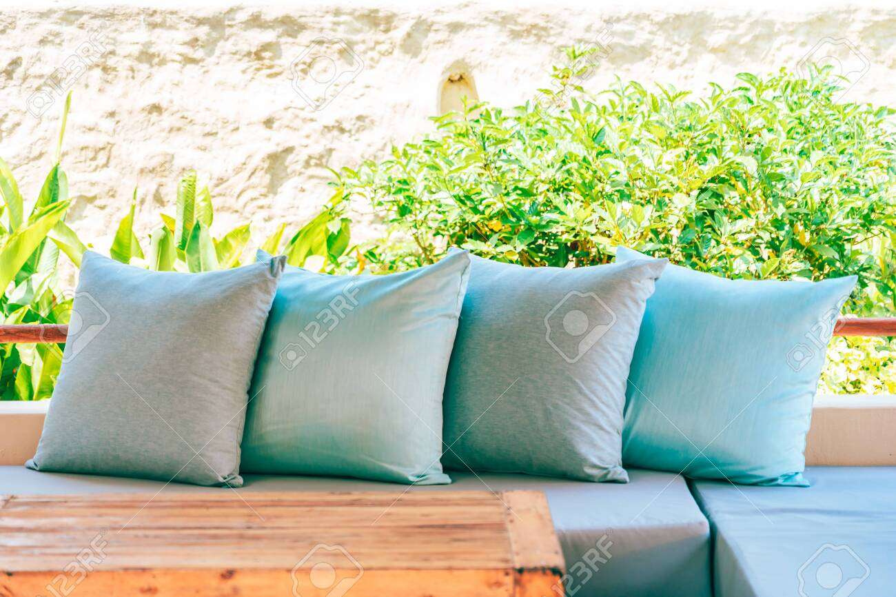 Surprising Pillow On Sofa Chair Decoration Outdoor Patio With Garden View Ocoug Best Dining Table And Chair Ideas Images Ocougorg