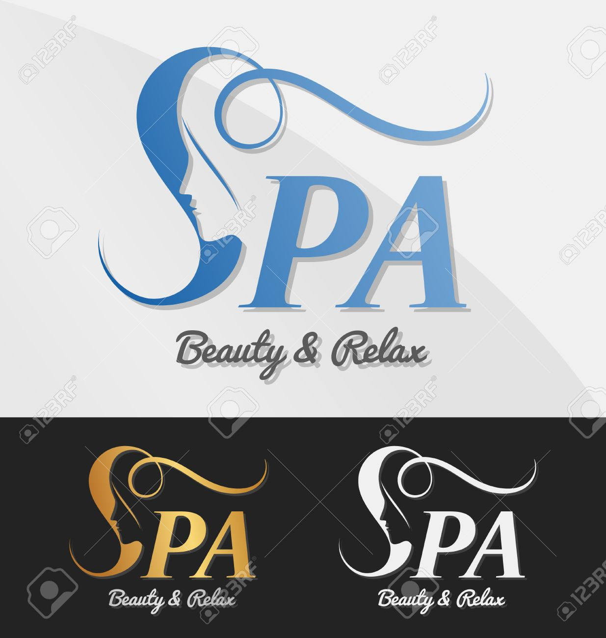 Beautiful female face in negative space on letter s logo design beautiful female face in negative space on letter s logo design suitable for spa thecheapjerseys Gallery