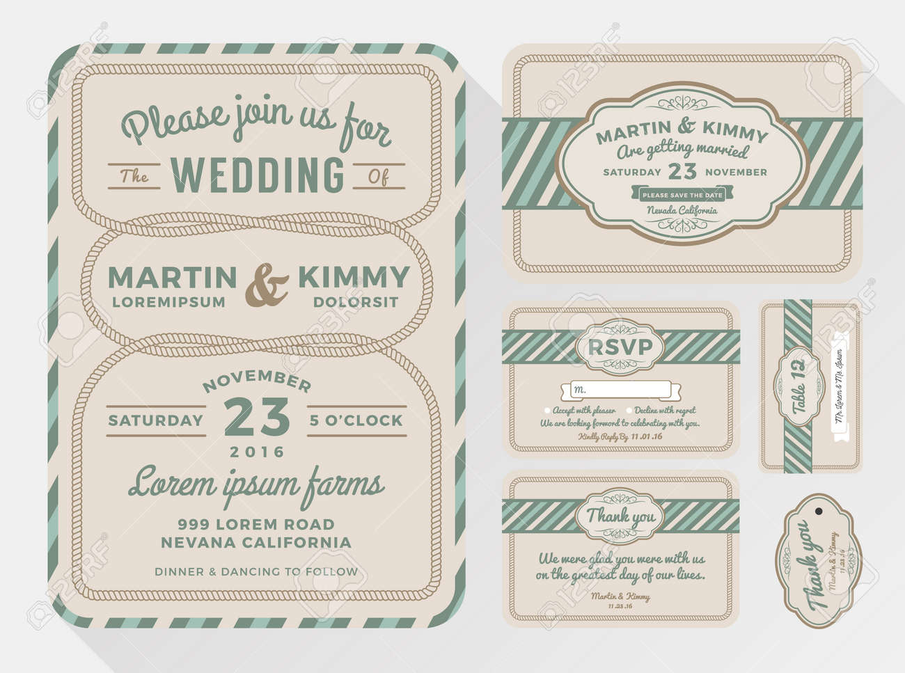 Wedding Invitation Sets For Your Lovely And Friendly Celebration