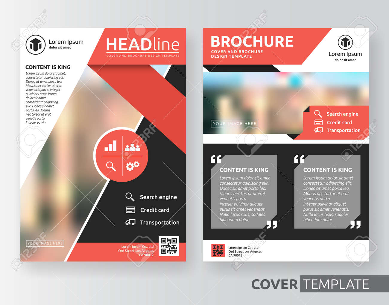 abstract cover design suitable for flyer brochure book cover abstract cover design suitable for flyer brochure book cover and annual report red