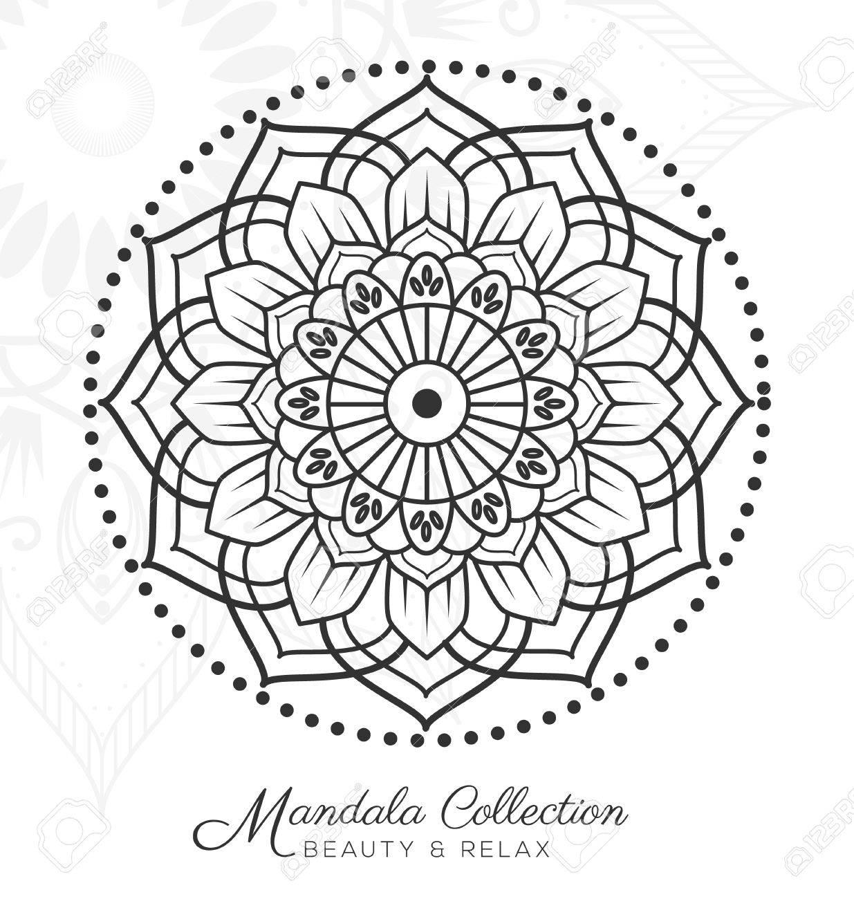 Atemberaubend Malvorlagen Mandala Designs Zeitgenössisch ...
