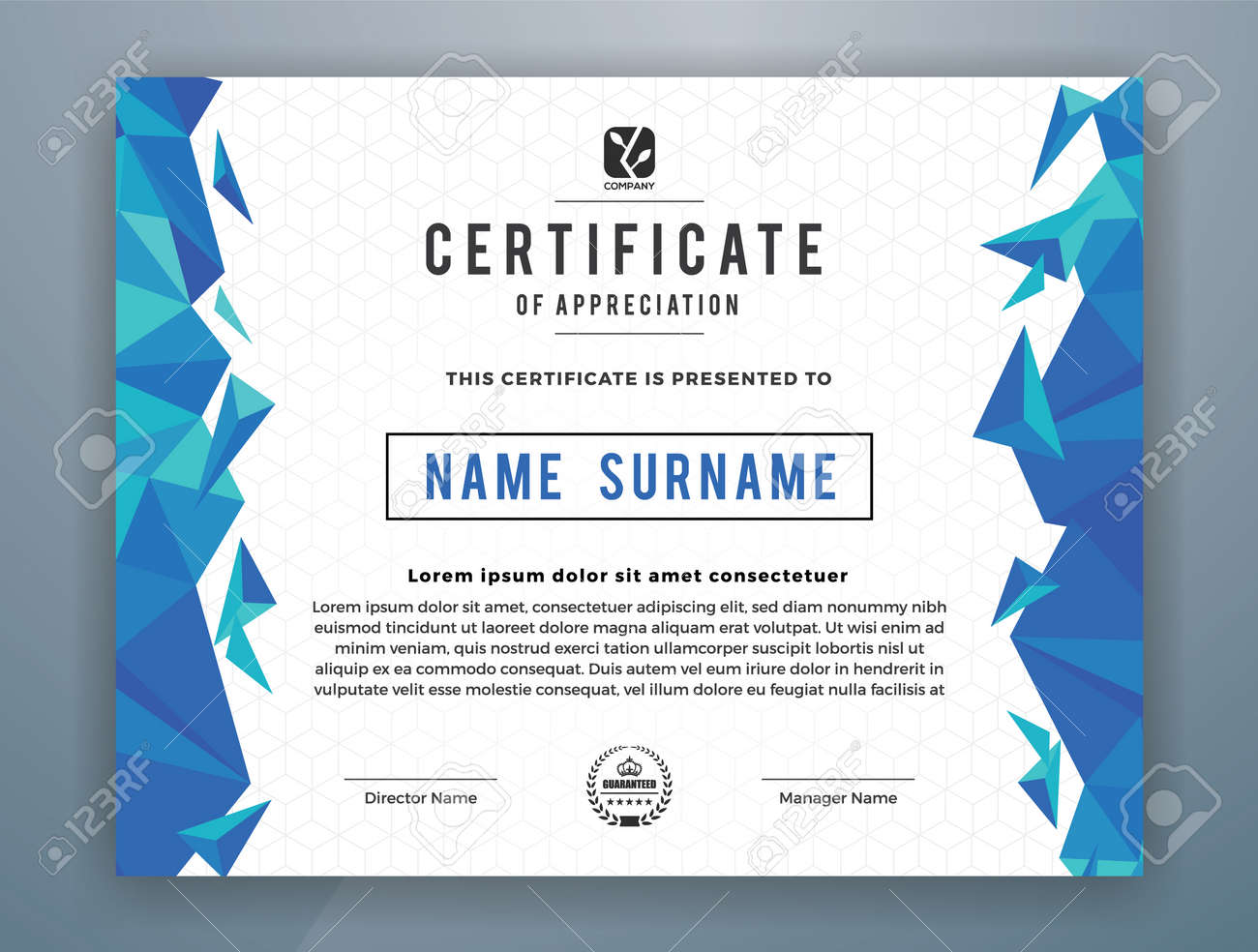 Multipurpose modern professional certificate template design multipurpose modern professional certificate template design for print vector illustration stock vector 79986584 yadclub Images