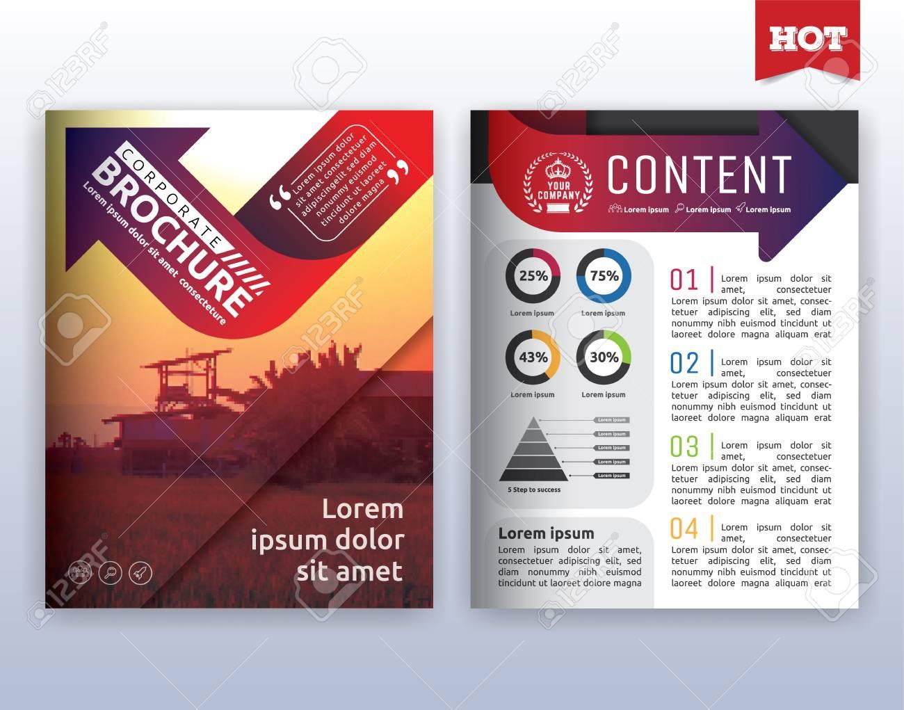 Multipurpose Modern Corporate Business Flyer Layout Design Suitable