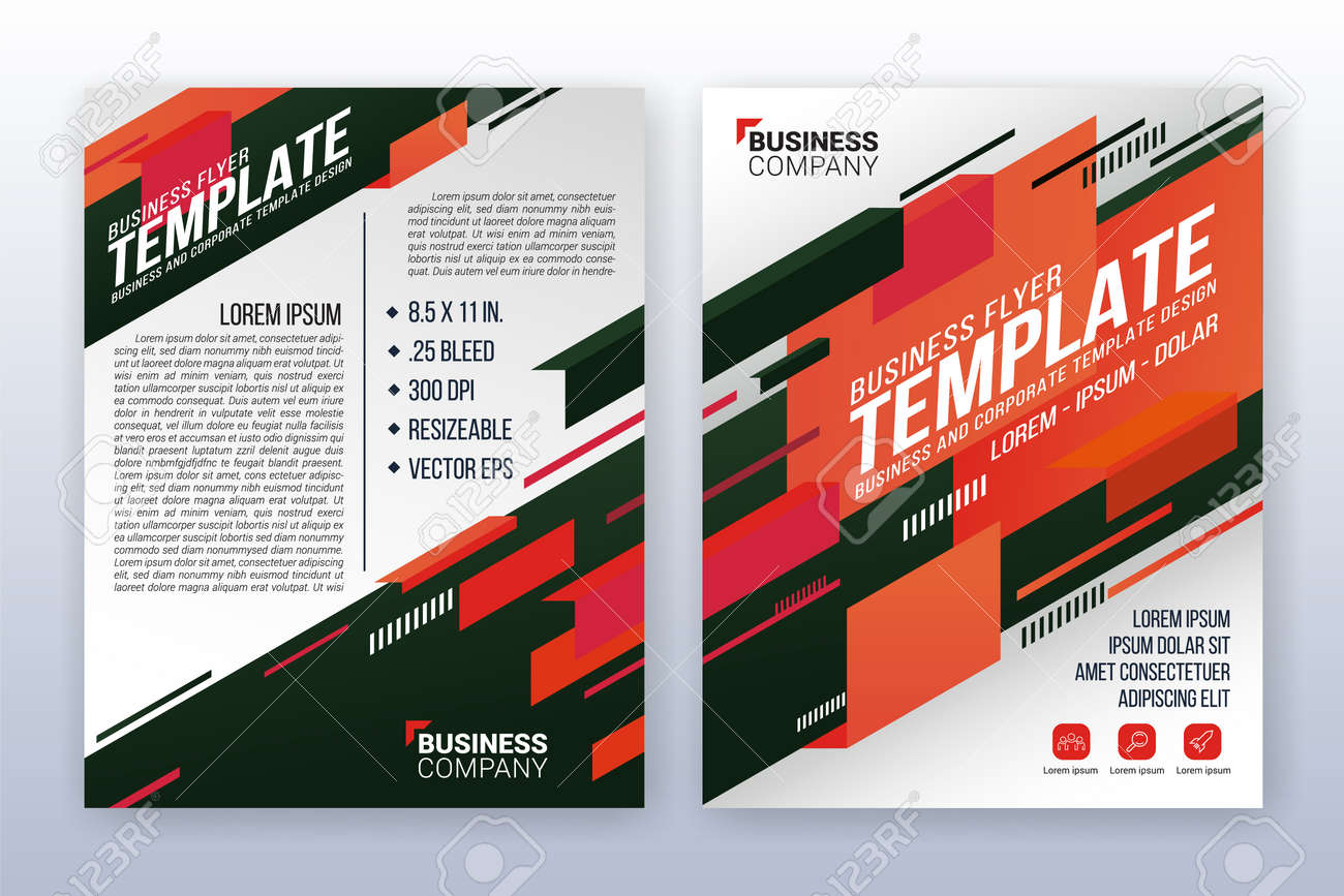 modern business cover and flyer template multipurpose flyer