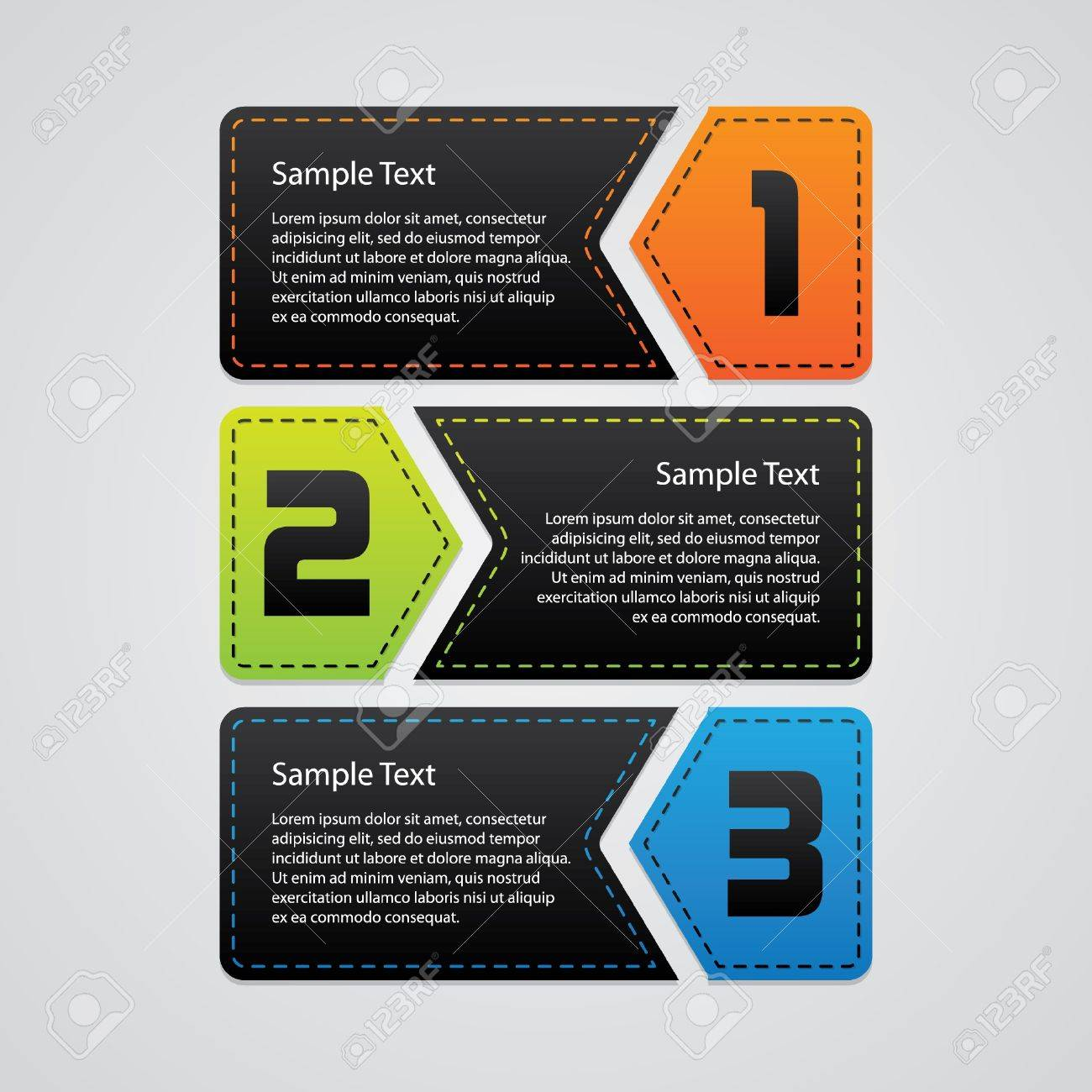 Progress Template Stock Vector - 18729853