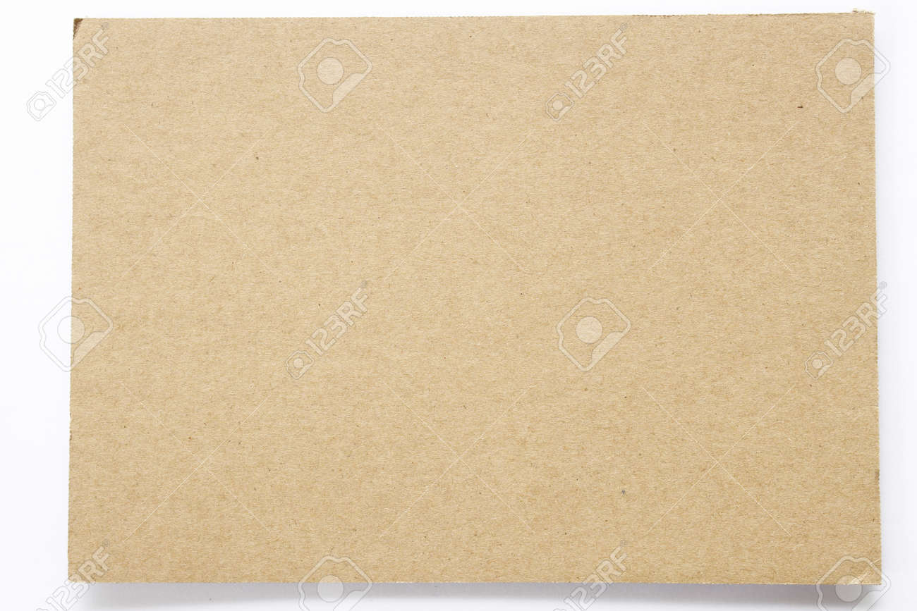 Blank sheet of brown paper useful as a background Stock Photo - 9922493