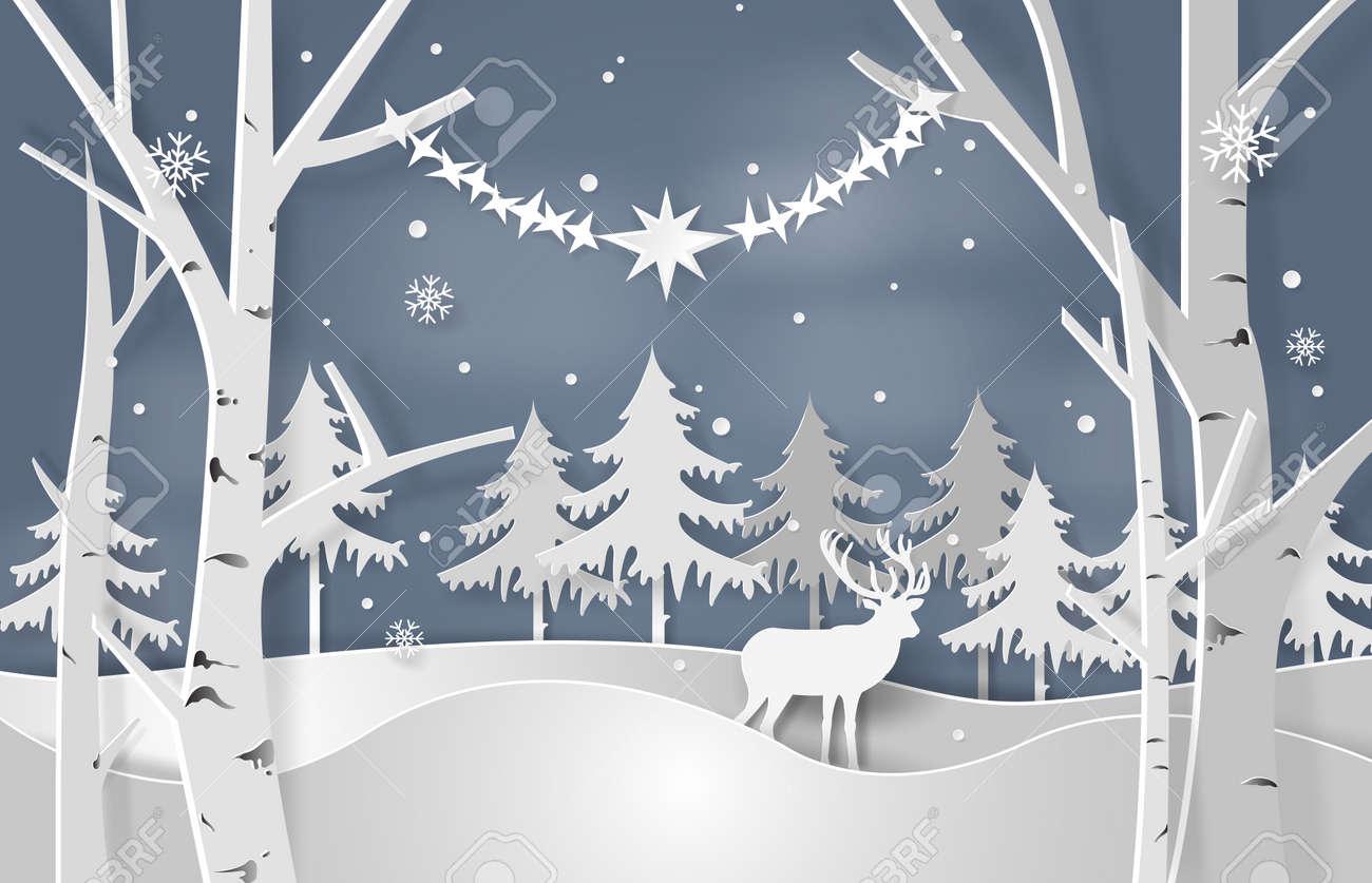 Christmas concept vector illustration. - 88969164