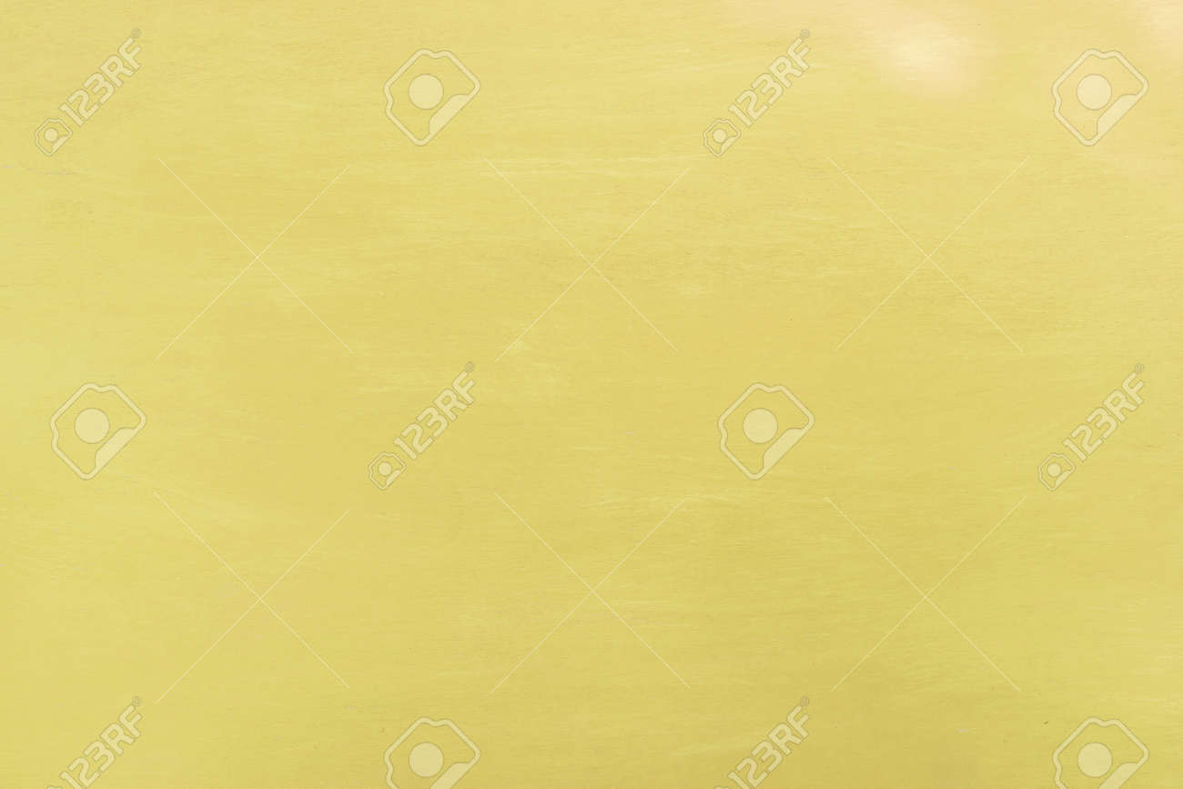 Yellow Color Paint On Wood Texture Background Stock Photo, Picture ...