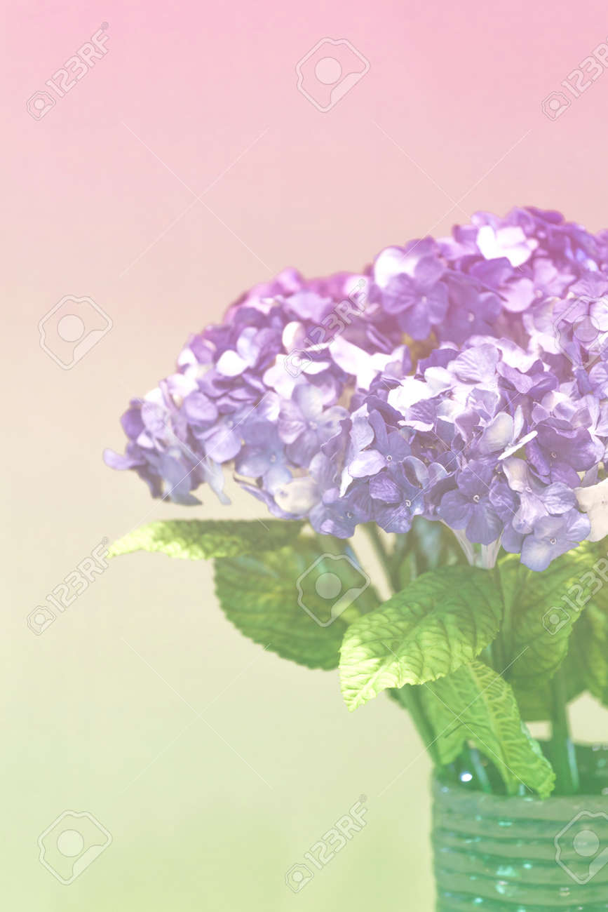 Hydrangea paper flower vintage style stock photo picture and hydrangea paper flower vintage style stock photo 54034972 mightylinksfo