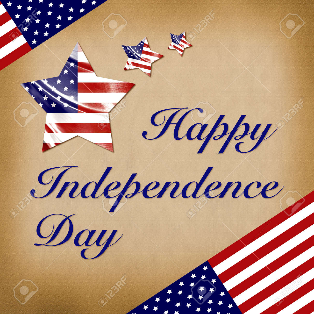 Happy 4th July USA Independence Day Poster Happy Independence