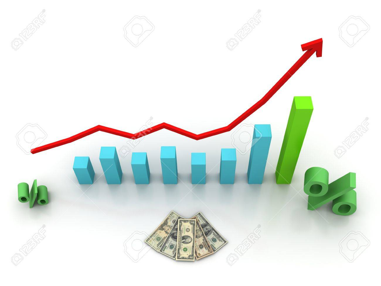 to be ahead of schedule the interest rate stock photo picture and