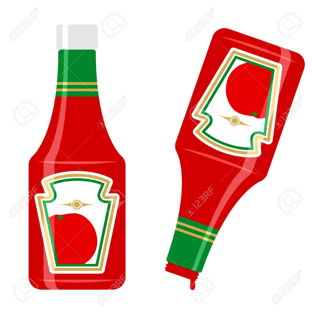 ketchup bottle royalty free cliparts vectors and stock rh 123rf com clipart ketchup bottle ketchup clipart black and white