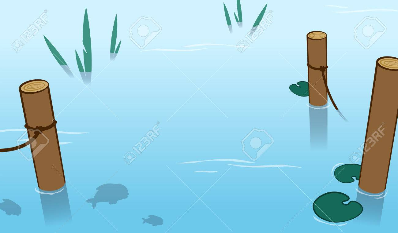 Water lily Pond , The fish in the pond. transparent background PNG clipart  | HiClipart