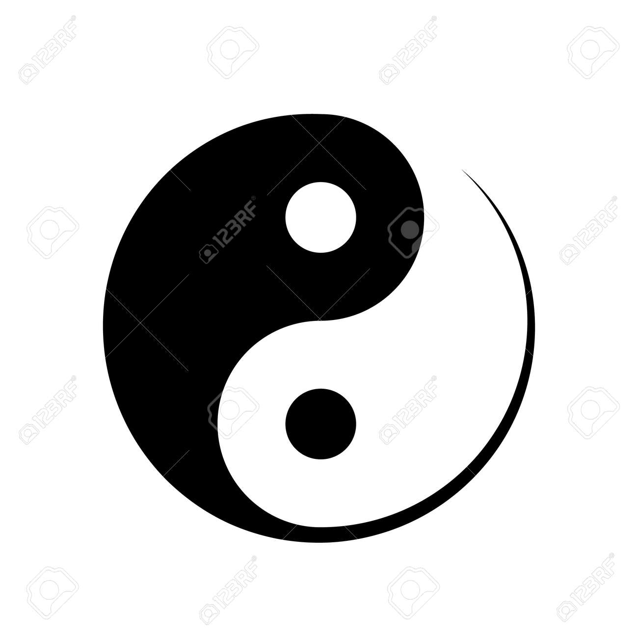 Black and white yin yang symbol symbolising harmony unity black and white yin yang symbol symbolising harmony unity balance male and female biocorpaavc