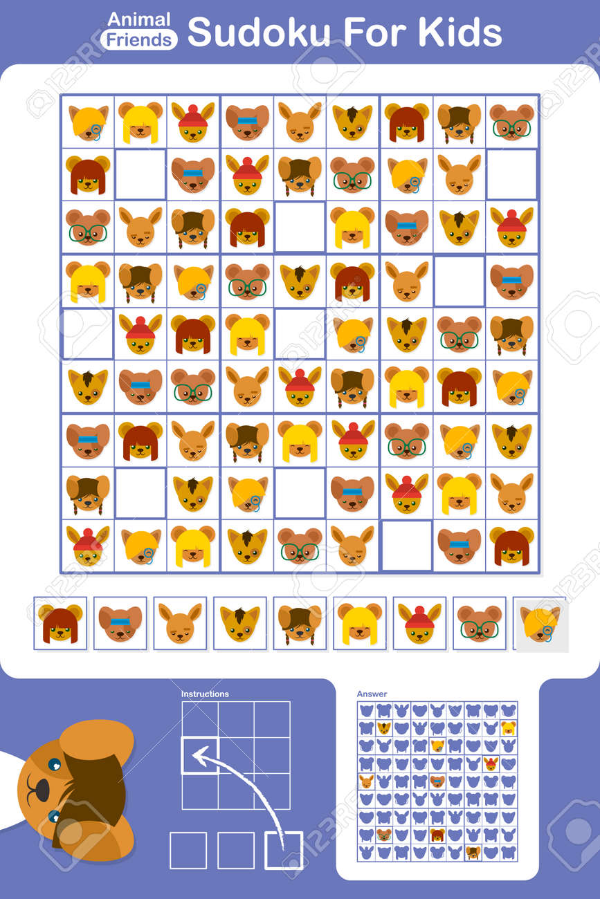 photo about Sudoku Printable Grid named Sudoku simple printable enlightening puzzle grid for fundamental college or university..