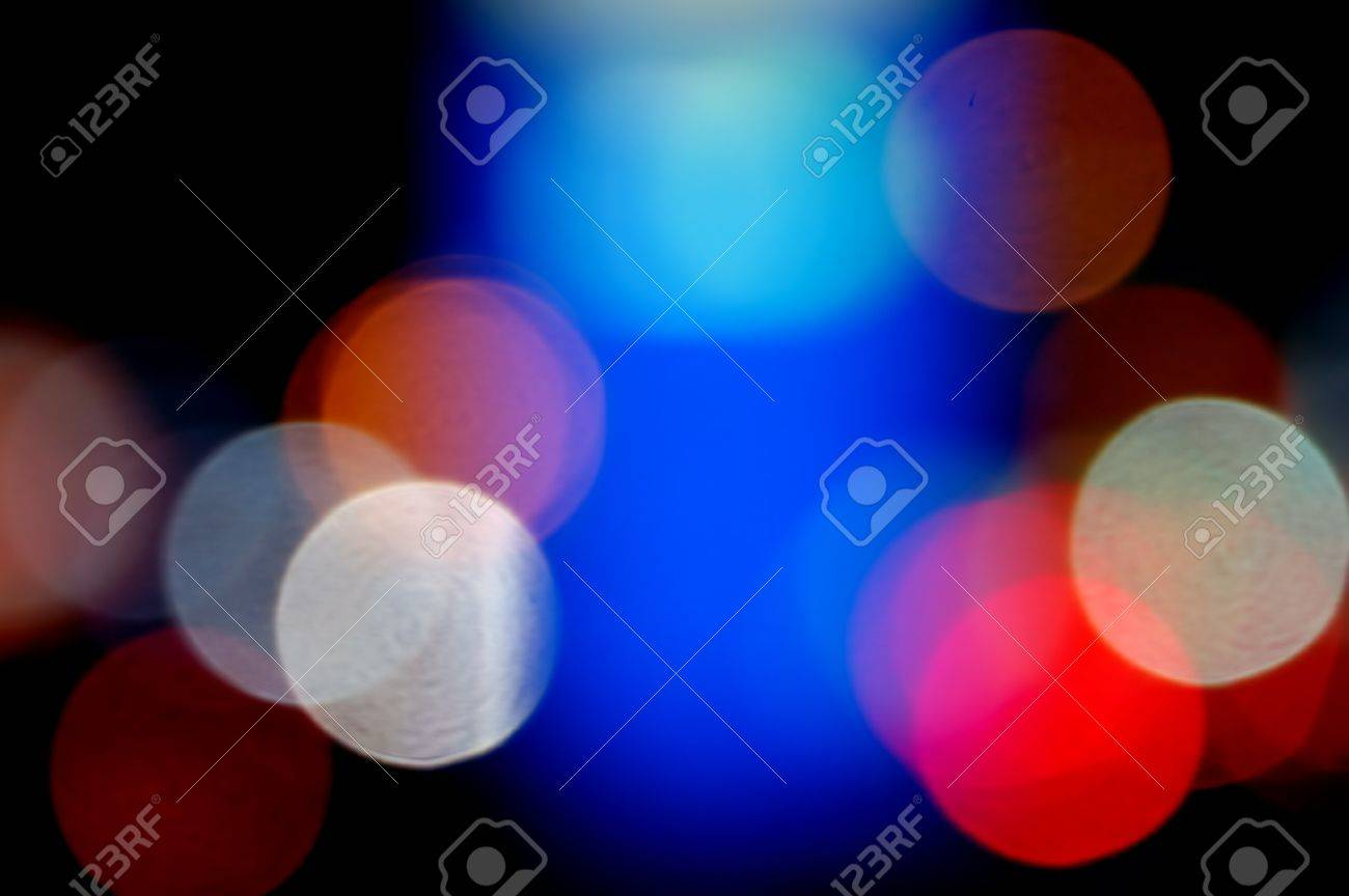 Defocused colorful light dots. Abstract background. Stock Photo - 7714749