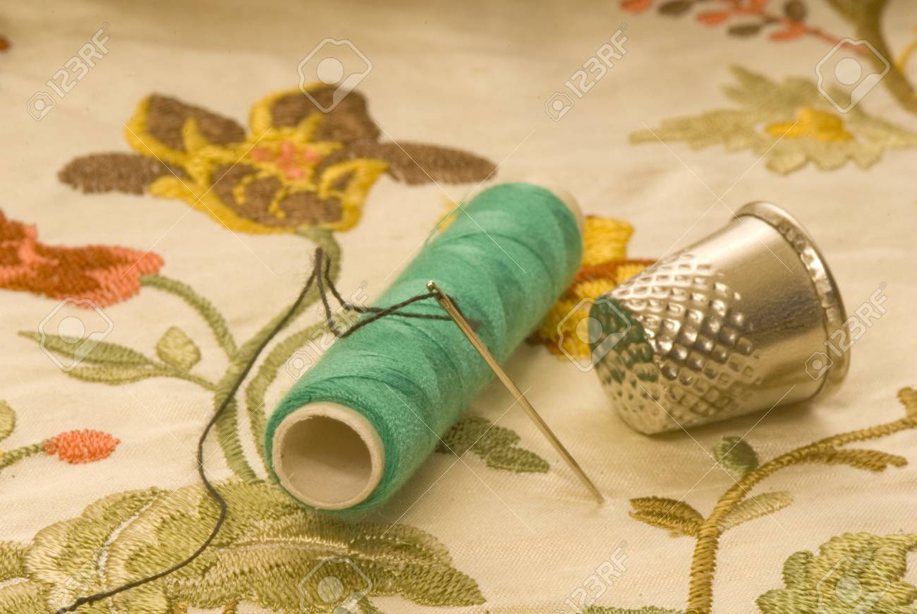 Useful sewing and embroidered cloth Stock Photo - 9091097