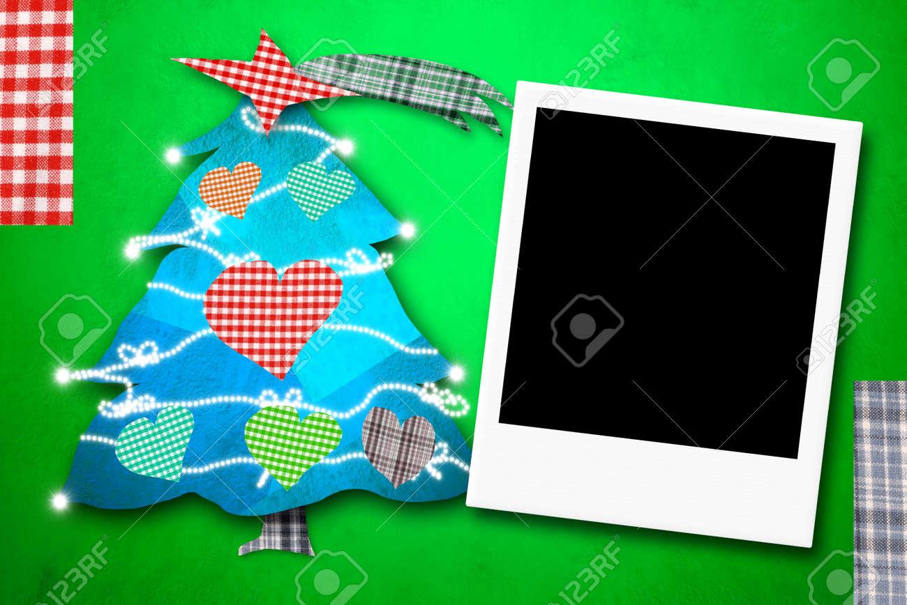 Weihnachtskarten Bilderrahmen, Eine Spontane Foto-Rahmen Und ...