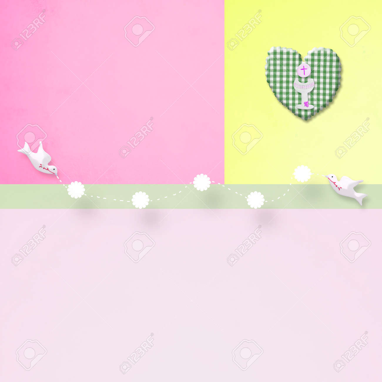First holy communion background for girl religion symbols and first holy communion background for girl religion symbols and copy space for text and photo buycottarizona Image collections