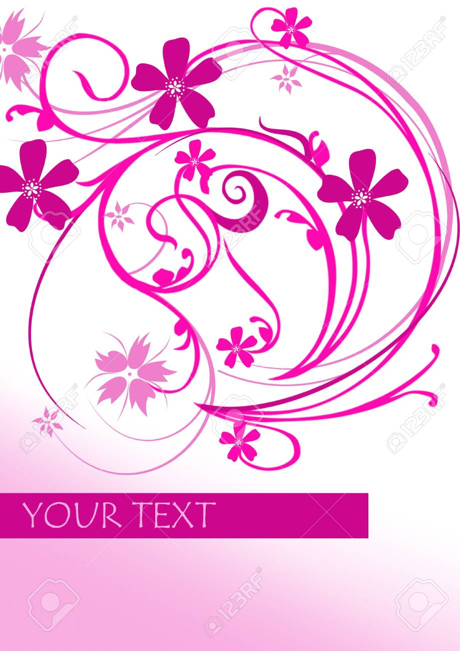 abstract flower Stock Photo - 7046967