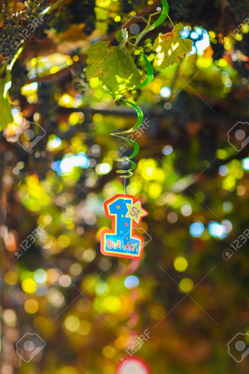 Fragmento De Decoración Decoraciones Navideñas Para Niños Cumpleaños Temáticos Figuras Festivas De Fotografía Primer Año De Vida Azul Y Naranja