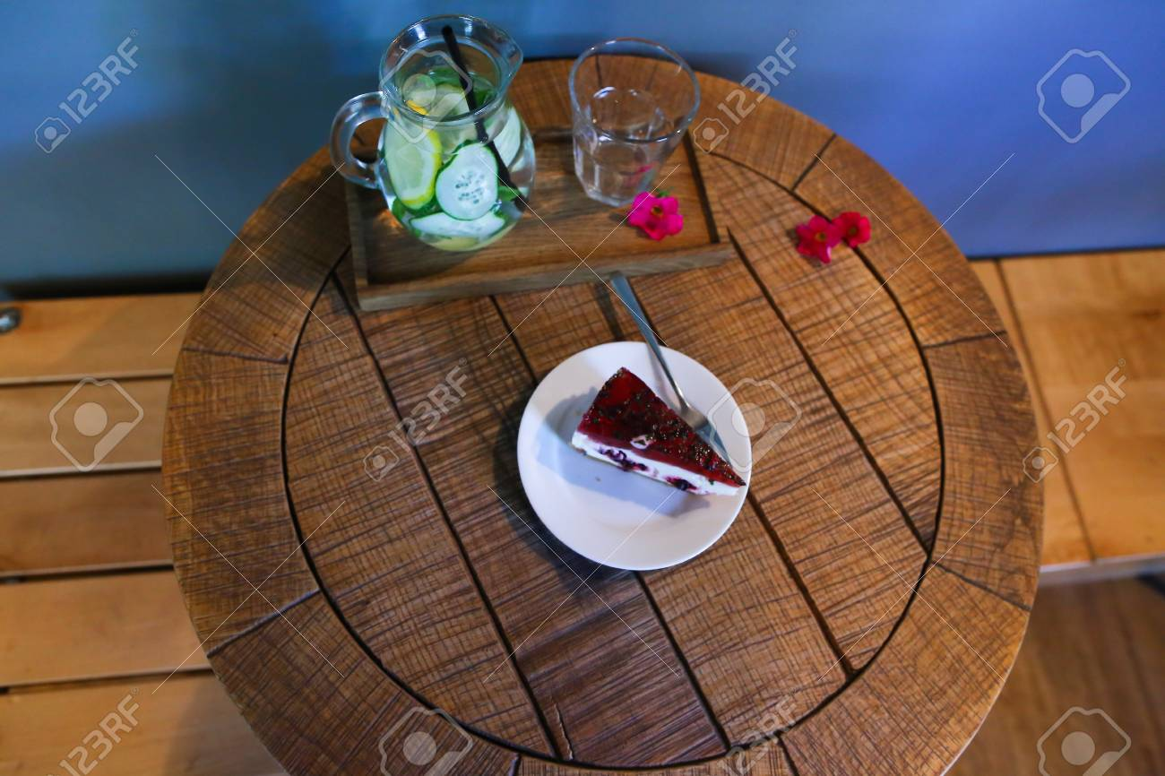The Concept Of Food Photography Beautiful Dessert Cafe Restaurant Stock Photo Picture And Royalty Free Image Image 72868460