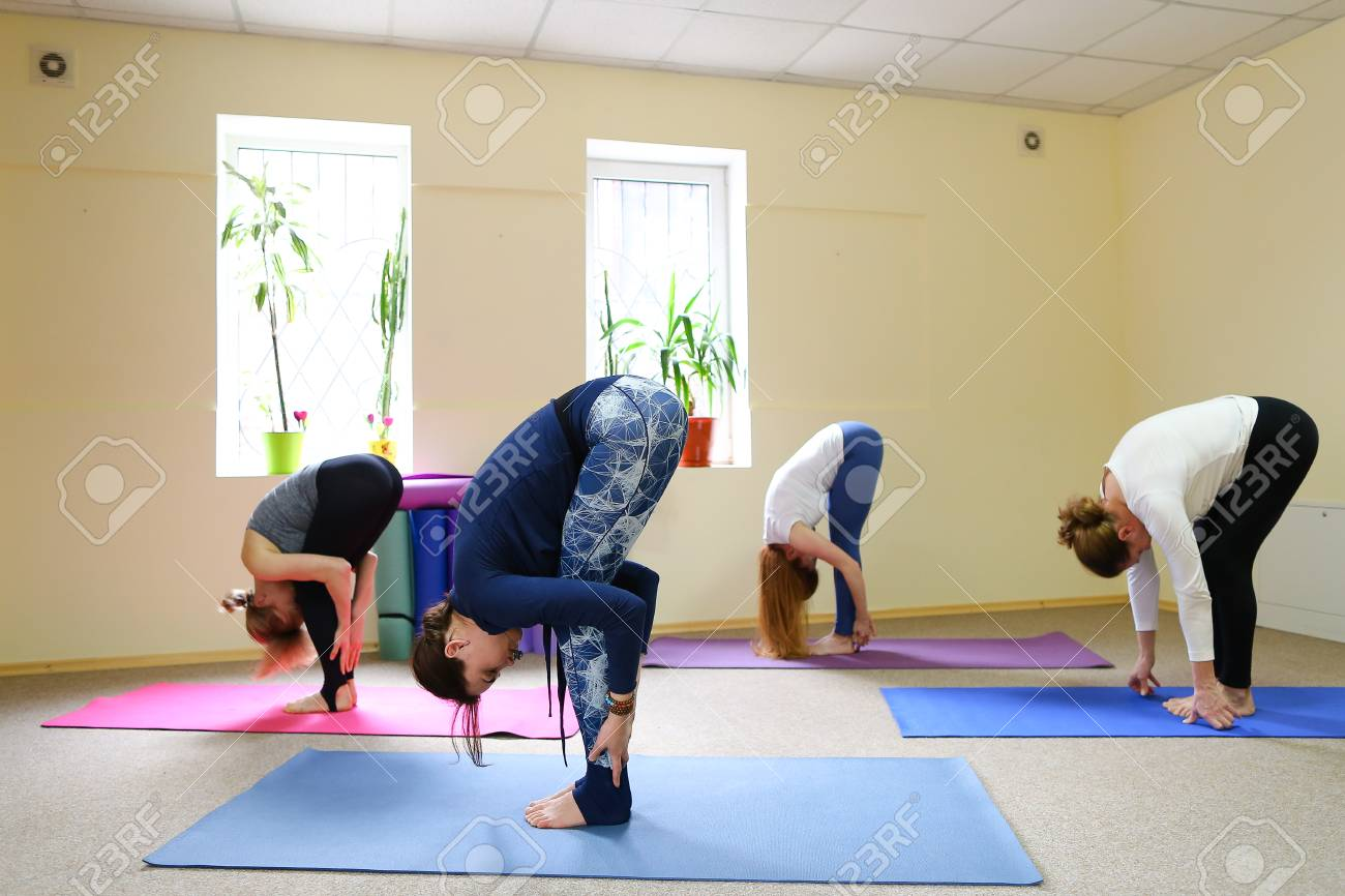Yoga Poses For Four People  ABC News