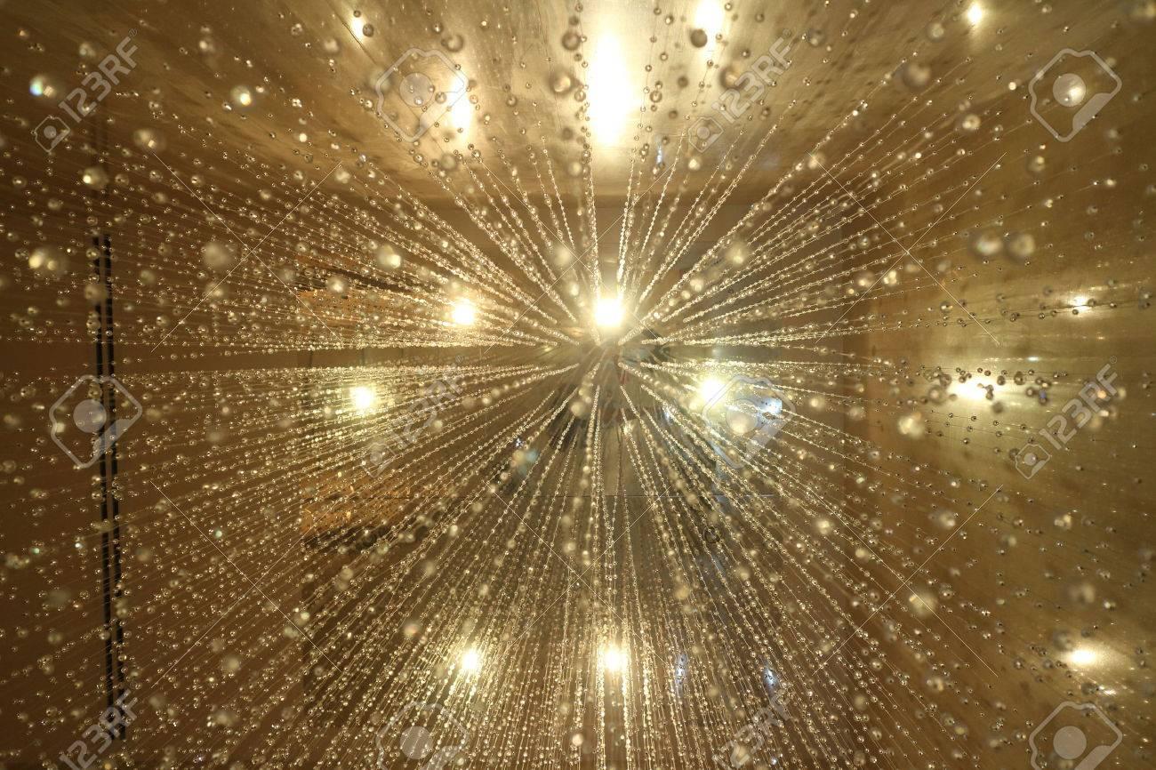 glitter vintage lights background. gold silver and black. defocused. - 40644642